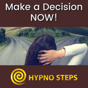 Make a Decision Now